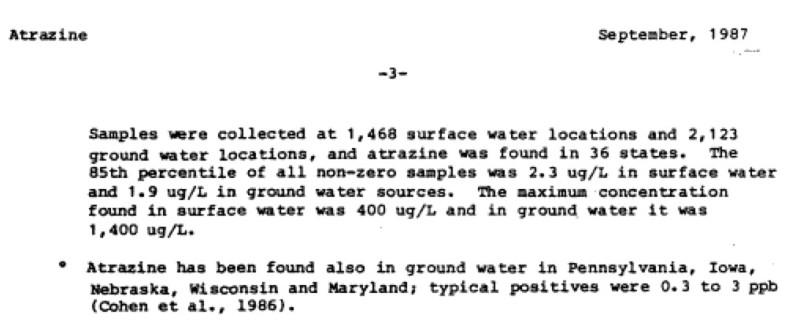 atrazine-water-tests